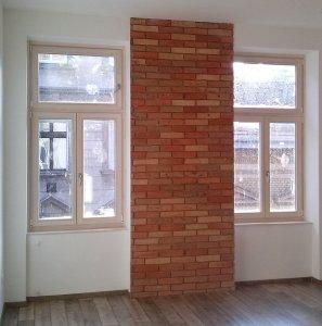natúr kétszárnyú fa ablak