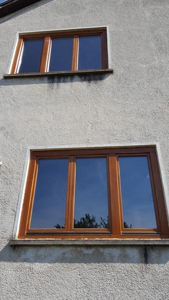 Hőszigetelt fa ablakok