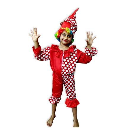 Kids Clown Costume Fancy Dress on Rent