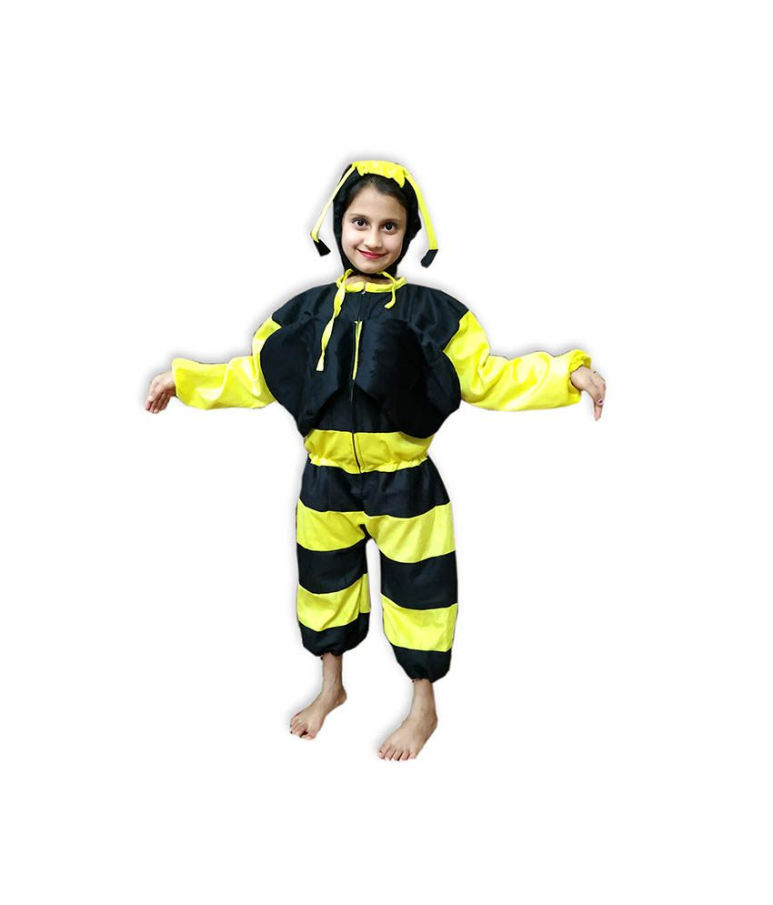 Kids Honey Bee Costume Fancy Dress on Rent