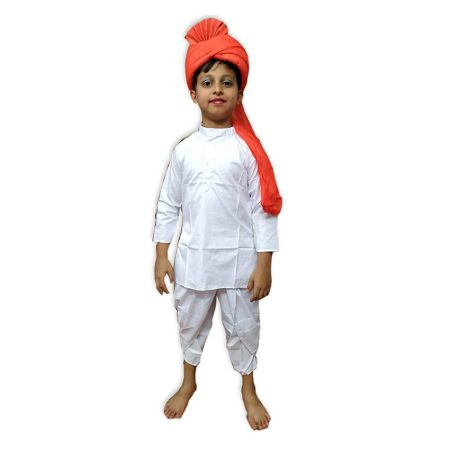 Kids Maratha Costume Fancy Dress on Rent