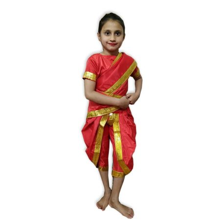 Kids Marathi Girl Costume Fancy Dress on Rent