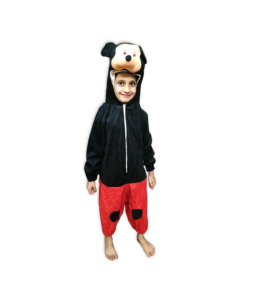 4cbc4ff9329 Kids Mickey Mouse Fancy Dress Costume on Rent.