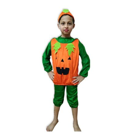 Kids Pumpkin Costume Fancy Dress on Rent