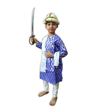 Kids Tipu Sultan Costume Fancy Dress on Rent