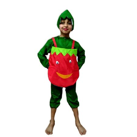 Kids Tomato Costume Fancy Dress on Rent