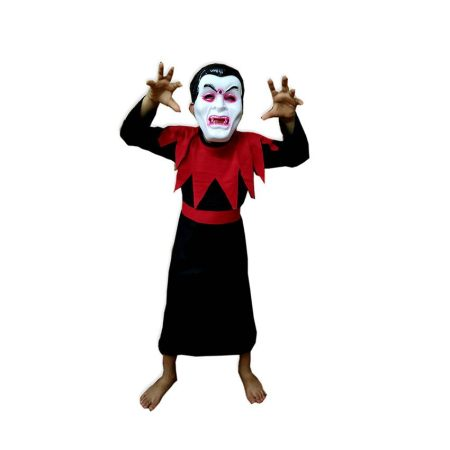 Kids Vampire Draculla Fancy Dress Costume on Rent.