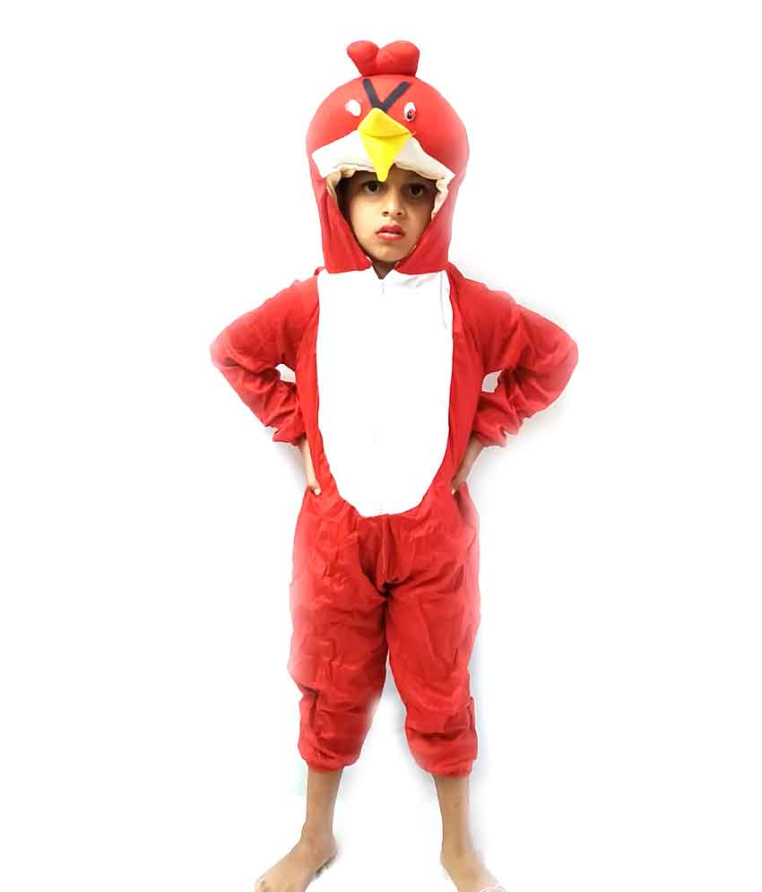 Angry Bird Costume on Rent