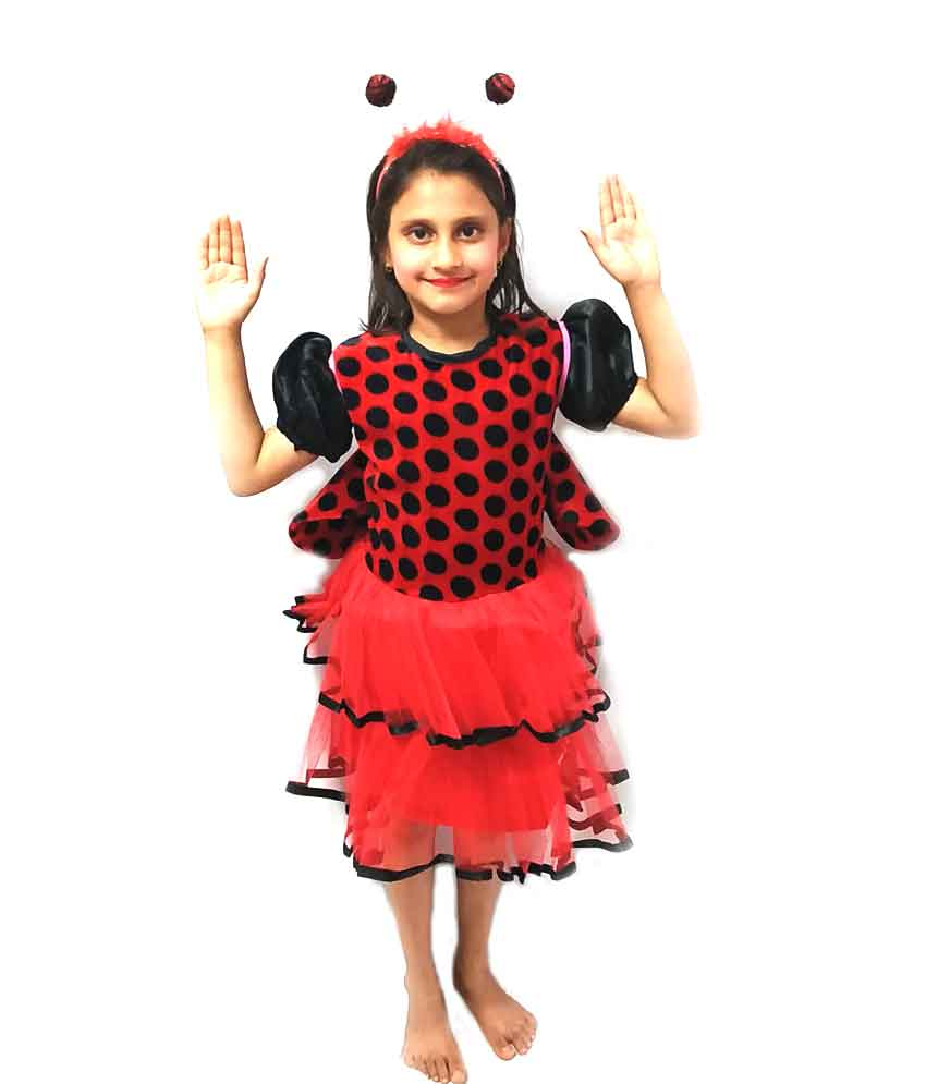 Lady Bird Girl Costume on Rent