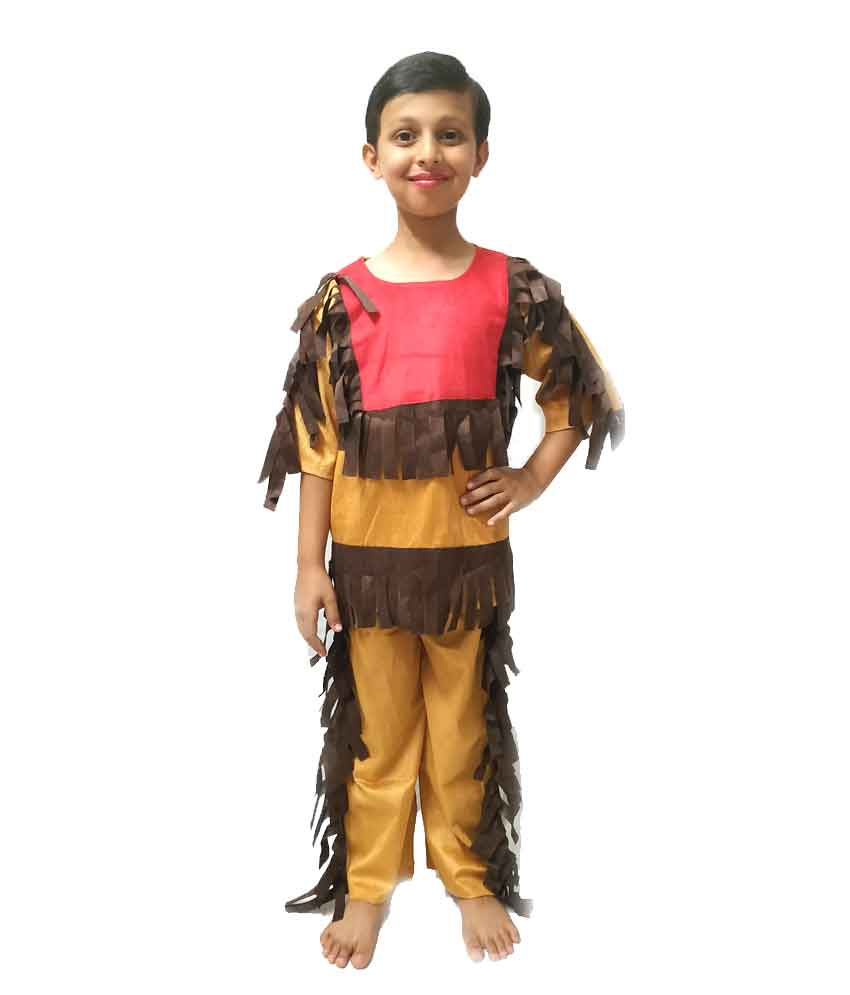 Red Indian Costume on Rent