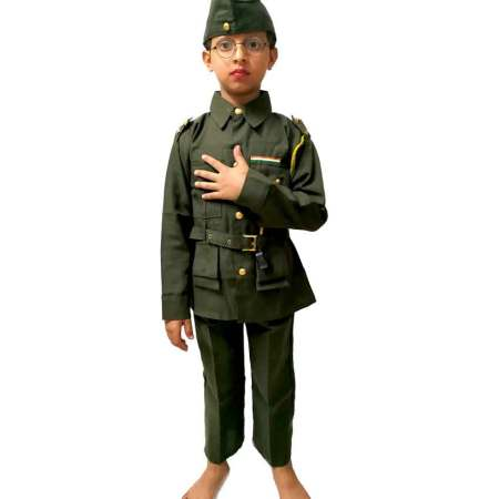 Hire Subhash Chandra Bose Costume on Rent