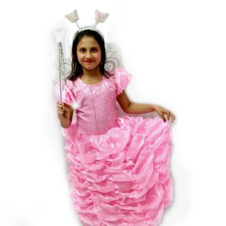 Pink Barbie Gown Costume on Rent