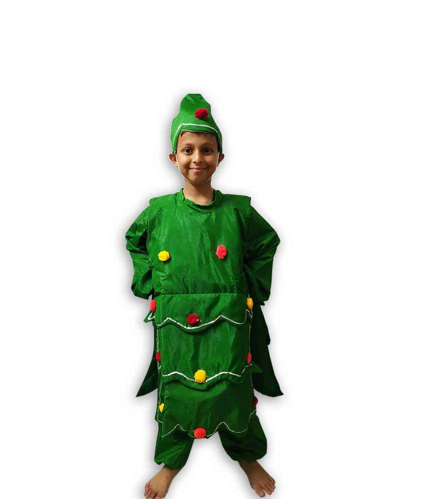 Christmas Tree Costume.Hire Christmas Tree Boy Costume Fancy Dress Costumes On Rent In Pune