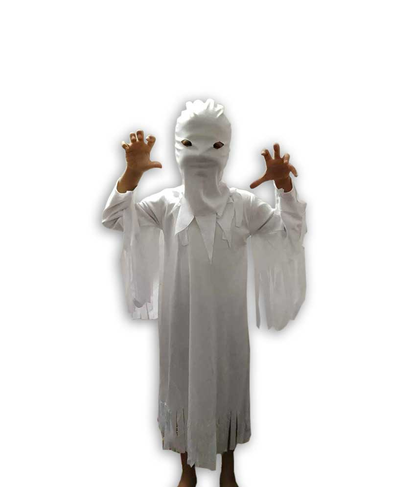 Hire White Ghost Costume