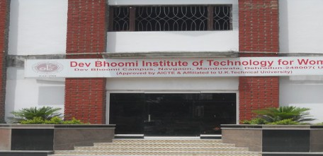 Dev Bhoomi Institute of Technology for Women