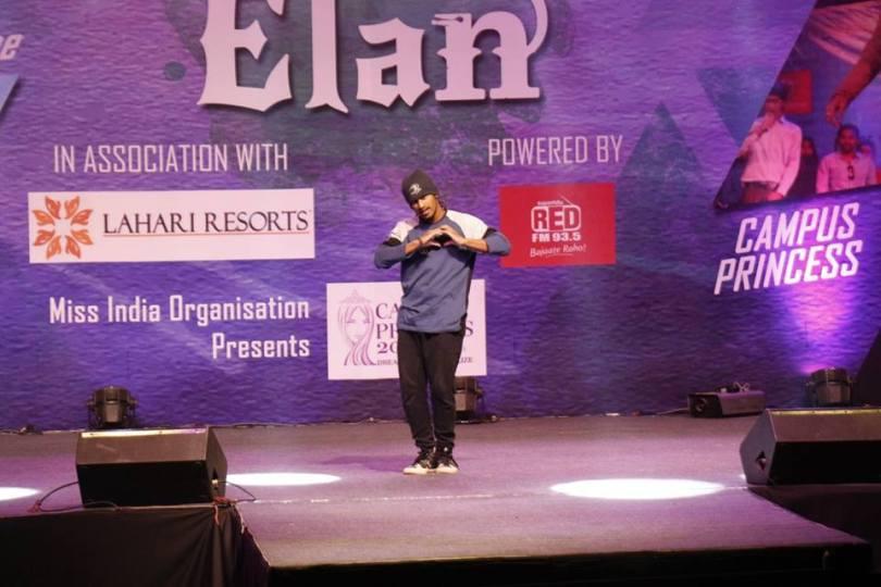 Elam 2016, IIT Hyderbad loose your feet