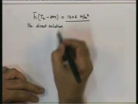 Introduction on Heat and Mass Transfer Lecture – 23