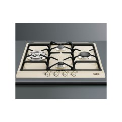 Free Standing Kitchen Island Repairs Smeg Gas Hob Sr764po Cream Cortina Line 60 Cm |fab Appliances