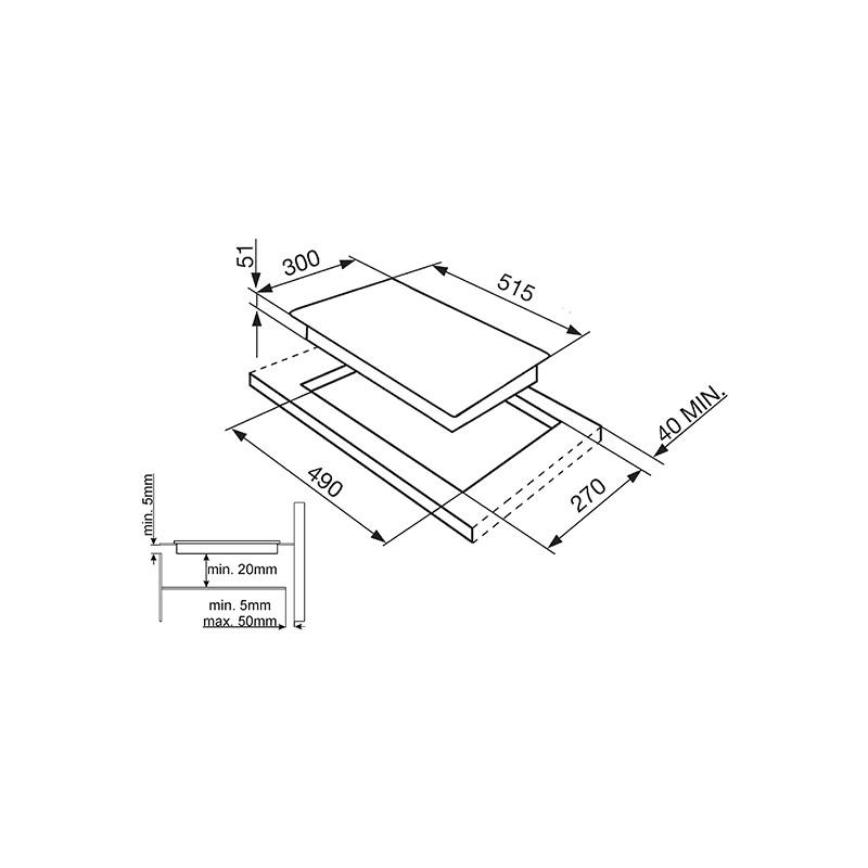 smeg induction hob wiring diagram bmw diagrams e39 si5322b 30 cm fab appliances