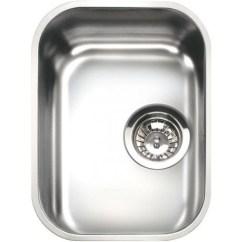 Single Bowl Stainless Kitchen Sink Portable Island Target Smeg Um30 Undermounted Steel 30 Cm