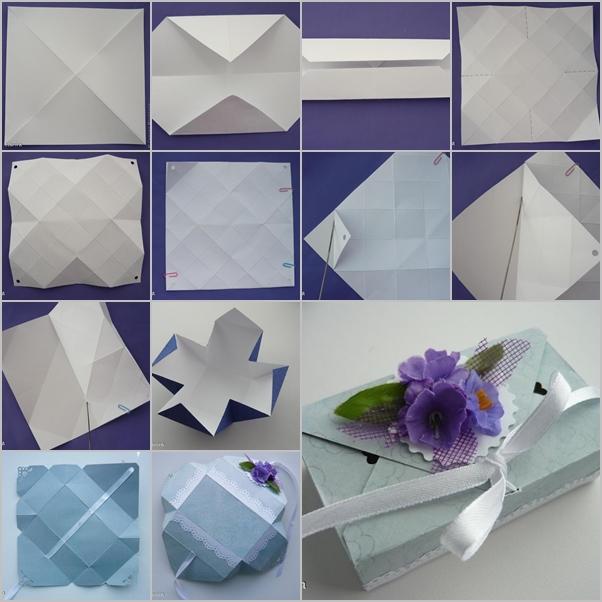 DIY Origami Gift Box Without Glue FAB ART DIY Tutorials