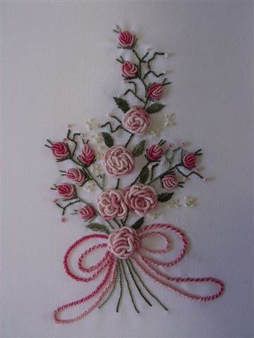 How to Make Beautiful 3D Flower with Thread Embroidery