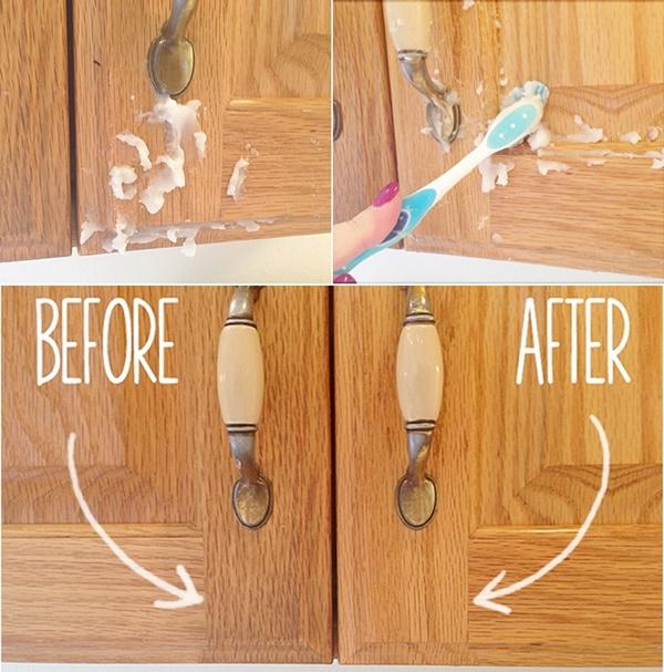 DIY 2Ingredient Homemade Kitchen Cabinet Gunk Remover
