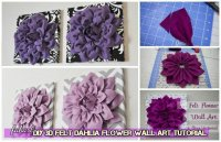3d Flower Wall Art - talentneeds.com