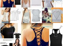 20 Ways and Ideas to Refashion T-shirt into Chic Top