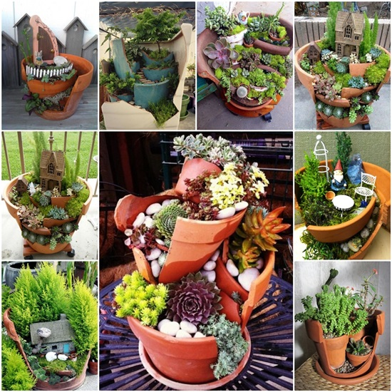 20 Terra Cotta Clay Pot DIY Project For Your Garden