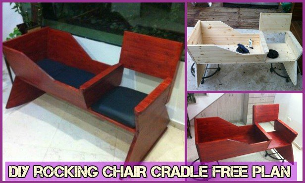 rocking chair crib combo rv chairs recliners diy cradle baby free plan tutorial