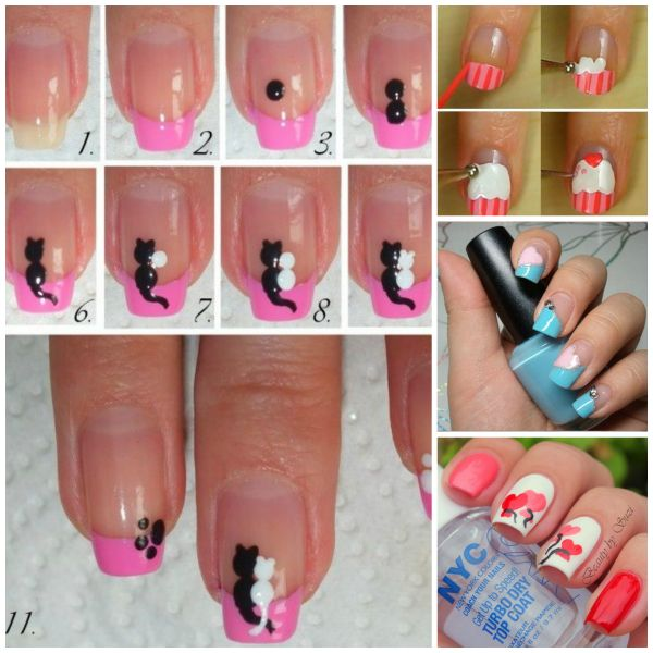 Cute Easy Nail Designs You Can Do At Home - Nail Art Ideas