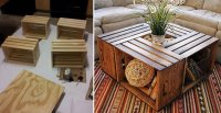 Pirate Chest Cooler Plans, diy wood crate projects