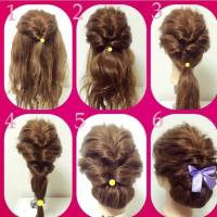 Fashionable Braid Hairstyle for Shoulder Length Hair - The ...