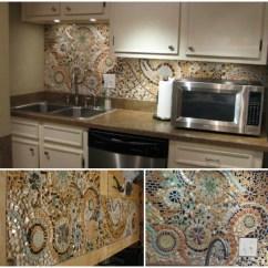 Kitchen Back Splashes Kids Step Stool Diy Backsplashes To Upgrade Your 5 Mosaic