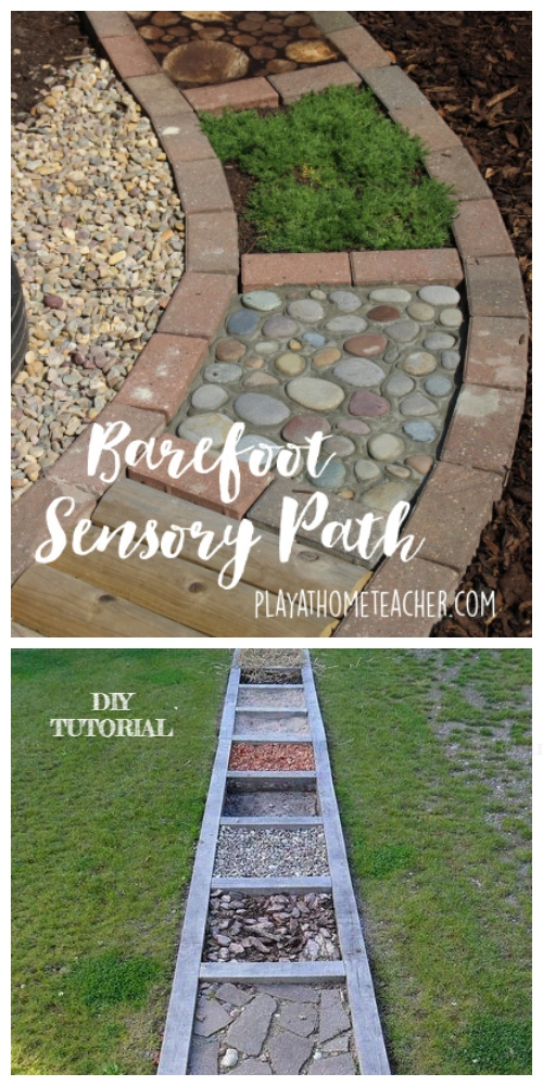 diy barefoot garden ideas