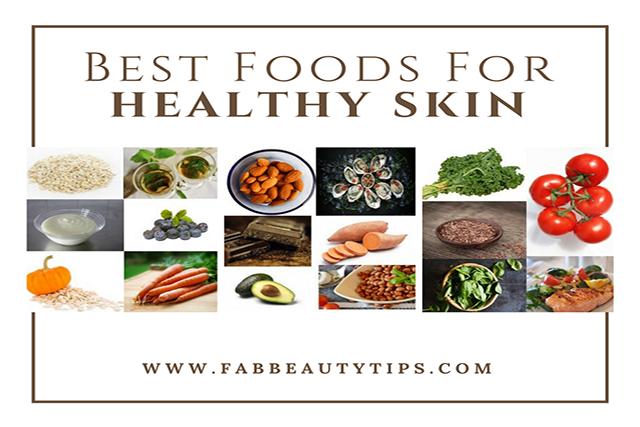 best foods for skin, foods for healthy skin, foods good for skin