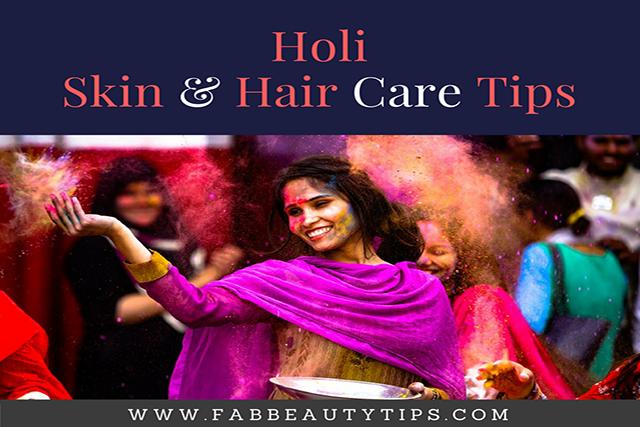 hair care tips for holi; holi skin care; holi skin care tips; holi hair care tips; Skin and hair care tips for holi; holi Skin and hair care; post holi hair care