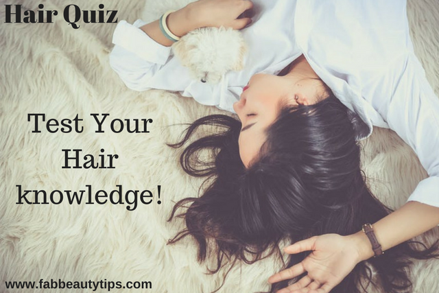 common hair problems; hair quiz; hair knowledge