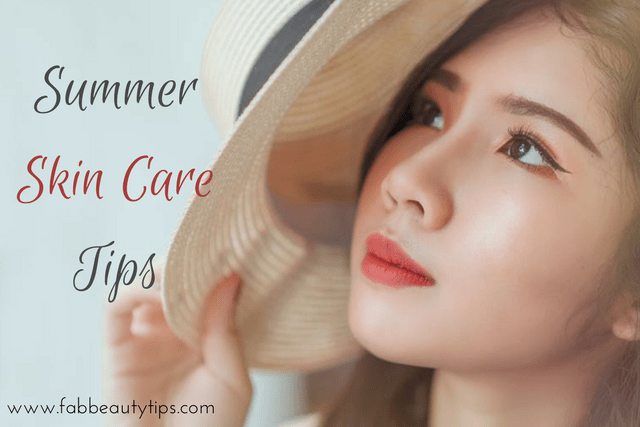 face care in summer; summer skin care; summer skin care tips; summer tips for skin
