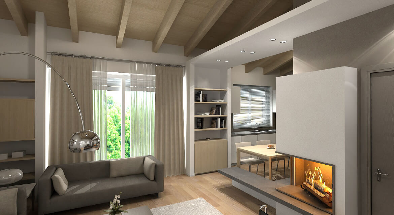Appartamento Mansardato  Fabbrica Idee