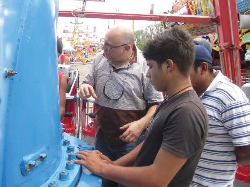 In House training of your amusement ride staff