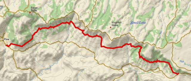 Hightline trail