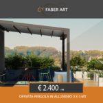 OFFERTA!!!!! Pergola in alluminio a soli € 2.400
