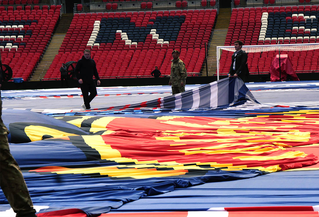 Faber Exposize Wembley