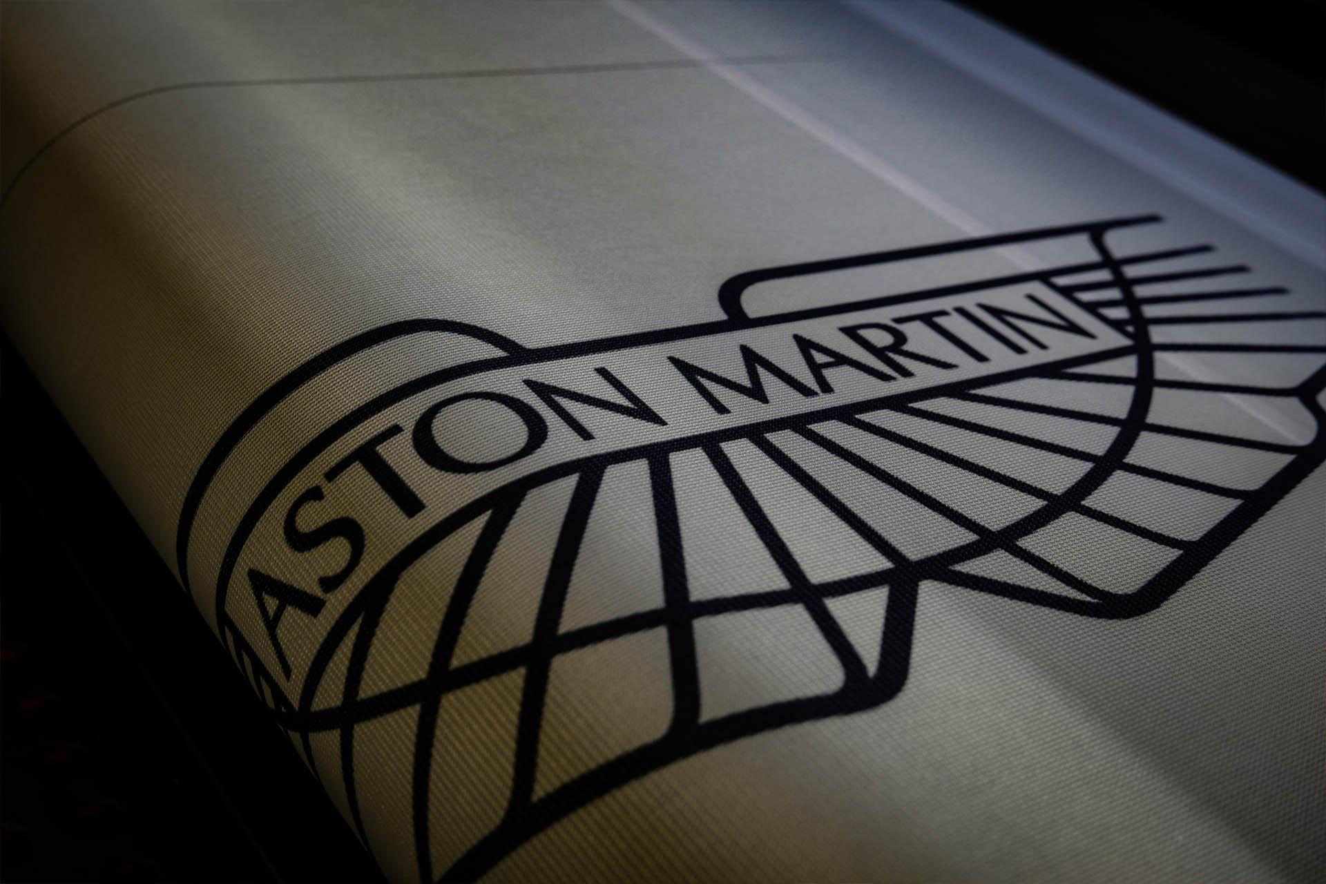 Faber Exposize Aston Martin Fabric Print
