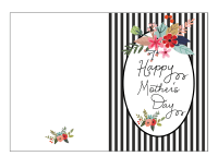 Free Mother's Day Card Printable - Fab Fatale