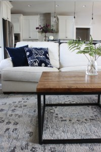 Boho Chic Living Room Reveal - Design c/o Havenly - Fab Fatale