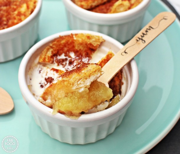 Quick Apple Puddings - simple & delicious! Fab Food 4 All