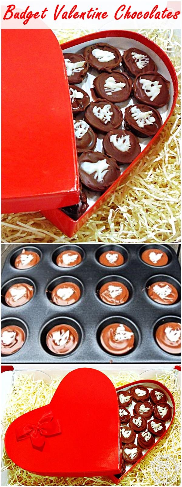 Budget Valentine Chocolates - Fab Food 4 All